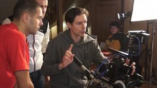 Съемочный процесс клипа М. Поплавского